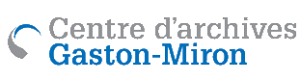 Logo du Centre d'archives Gaston Miron